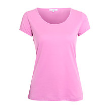Buy John Lewis Jersey T-Shirt, Pink Online at johnlewis.com