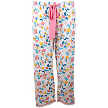 Buy Cyberjammies Bern Print Cropped Pyjama Pants, Multi Online at johnlewis.com