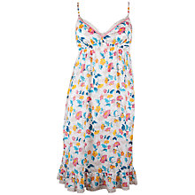 Buy Cyberjammies Bern Floral Chemise, Coral / Blue Online at johnlewis.com