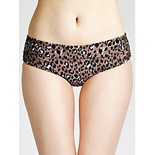 Buy John Lewis Leopard Bikini Shorts, Animal Online at johnlewis.com