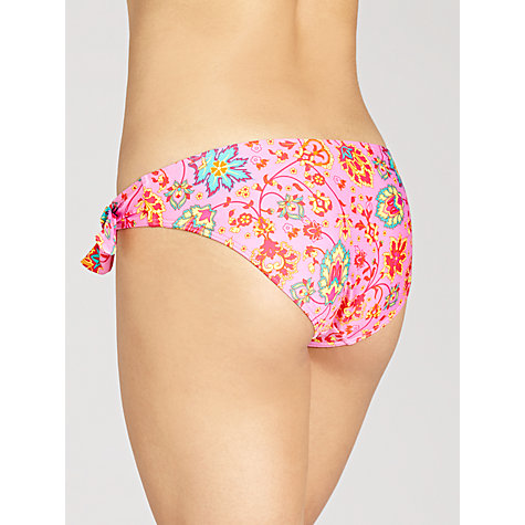 Buy John Lewis Paisley Side Tie Bikini Bottoms Online at johnlewis.com