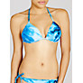Buy John Lewis Palm Print Halter Bikini Top, Multi Online at johnlewis.com