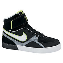 Buy Nike Space Flight Trainers, Black/Multi Online at johnlewis.com