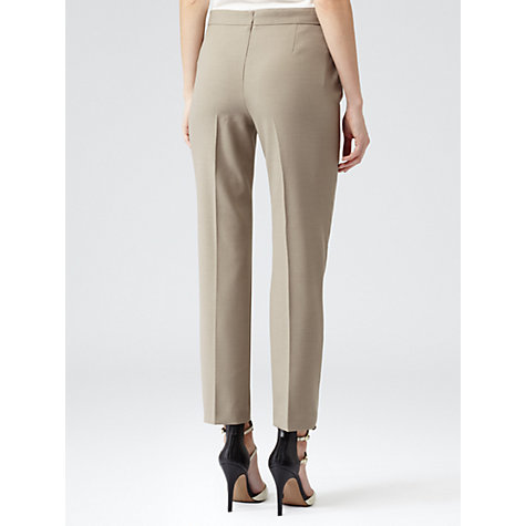 Buy Reiss Ceasar Crop Trousers, Sage Online at johnlewis.com