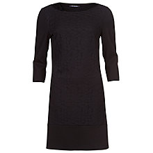 Buy Betty Barclay Lace Panel Dress, Black Online at johnlewis.com