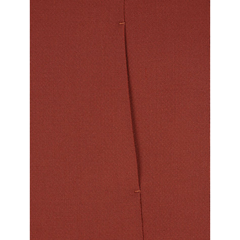 Buy NW3 by Hobbs Beaton A-Line Skirt, Burnt Red Online at johnlewis.com