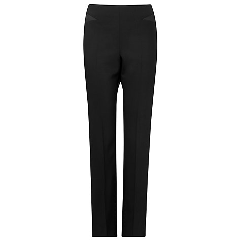 Buy L.K. Bennett Melba Tailored Trousers, Black Online at johnlewis.com