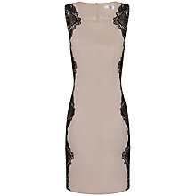Buy True Decadence Lace Applique Detail Dress, Black/Cream Online at johnlewis.com