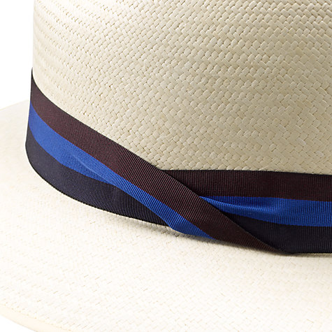Buy Olney Drop Brim Panama Hat, Natural Online at johnlewis.com