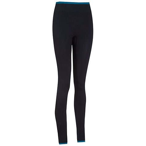 Buy Manuka Active Seamless Stirrup Tights, Black Online at johnlewis.com