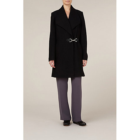 Buy Windsmoor Mid-Length Wool Coat, Black Online at johnlewis.com