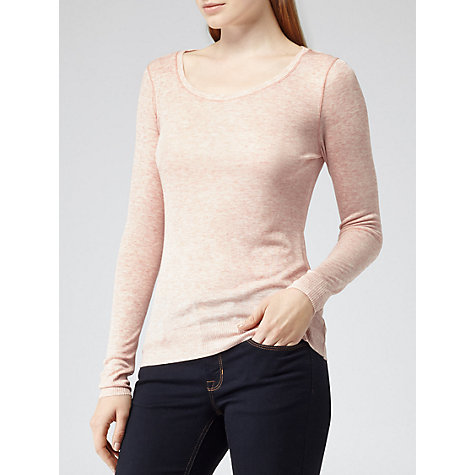 Buy Reiss Kimber Jersey Top Online at johnlewis.com