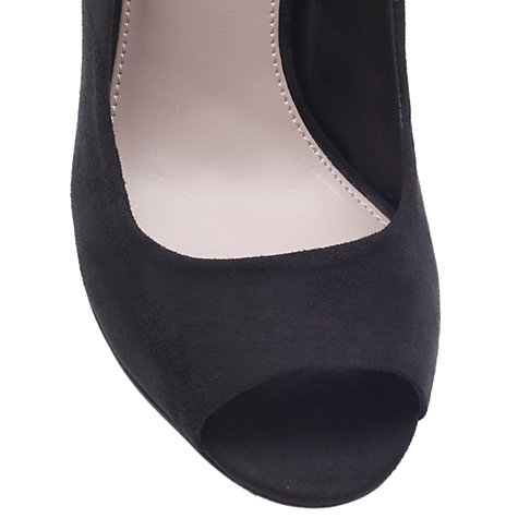 Buy Carvela Lottie Court Shoes, Black Online at johnlewis.com
