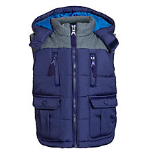 Buy John Lewis Boy Wilson Gilet Online at johnlewis.com