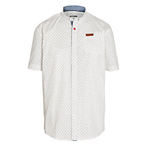 Buy Ben Sherman Boys' Polka Dot Shirt, Cream Online at johnlewis.com