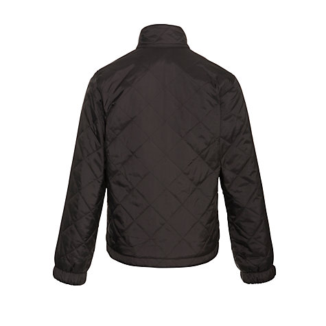 Buy Barbour International Bowmore Quilted Boys' Coat, Charcoal Online at johnlewis.com