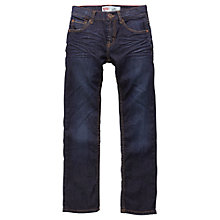 Buy Levi's Boys' 504 Regular Fit Denim Jeans, Dark Blue Online at johnlewis.com