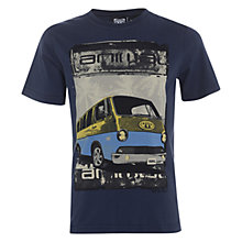 Buy Animal Boys' Hadi Campervan Graphic T-Shirt, Indigo Online at johnlewis.com