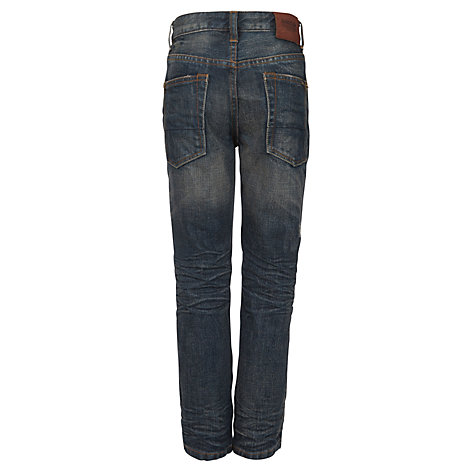 Buy Barbour International Boys' Aged Jeans, Navy Online at johnlewis.com