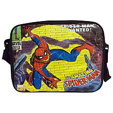 Buy Spider-Man Messenger Bag, Black/Multi Online at johnlewis.com