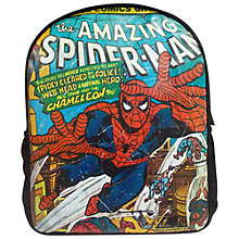 Buy Spider-Man Backpack, Black/Multi Online at johnlewis.com