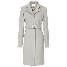 Buy Reiss Tropez Belted Wool Coat, Neutral Online at johnlewis.com