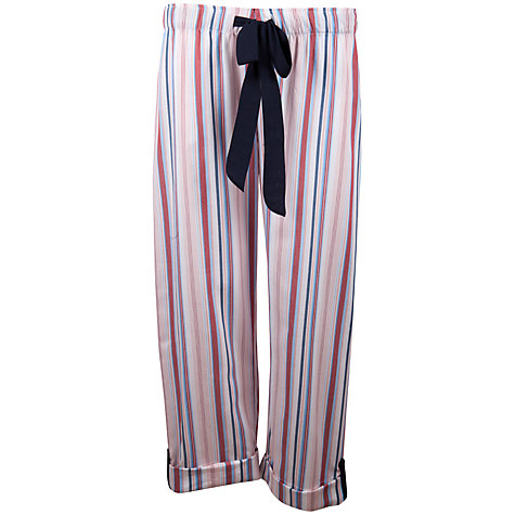 Buy Cyberjammies Poppy Stripe Pyjama Pants, Multi Online at johnlewis.com