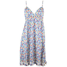 Buy Cyberjammies Rebecca Print Chemise, White / Blue Online at johnlewis.com