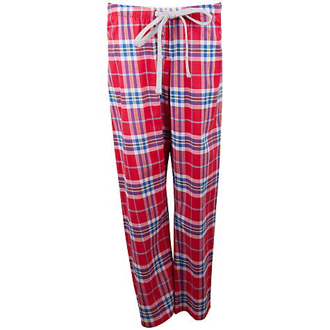 Buy Cyberjammies Nicole Check Pyjama Pants, Multi Online at johnlewis.com
