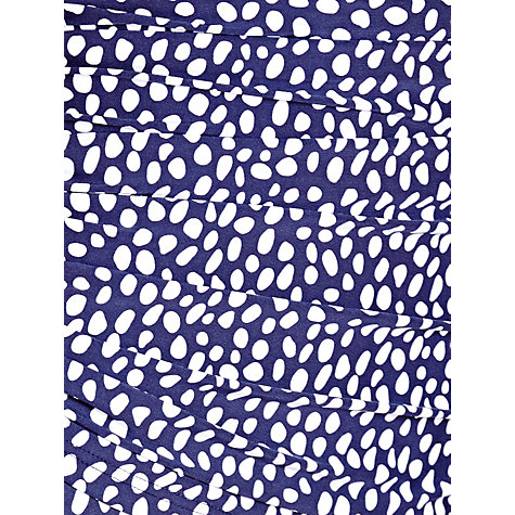 Buy John Lewis Scatter Spot Control Swimsuit, Blue / White Online at johnlewis.com