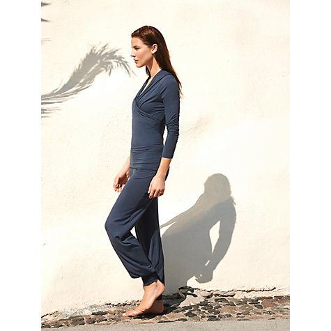 Buy Manuka Kundalini Cuffed Yoga Trousers, Grey Online at johnlewis.com