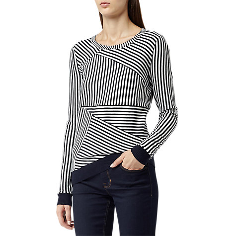 Buy Reiss Barker Jumper, Navy/Cream Online at johnlewis.com