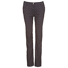 Buy Betty Barclay Printed Trousers, Black Online at johnlewis.com