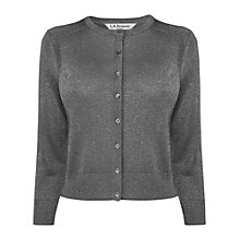 Buy L.K. Bennett Libby Crew Neck Cardigan Online at johnlewis.com