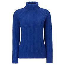Buy Jigsaw Fishermans Rib Polo Jumper Online at johnlewis.com