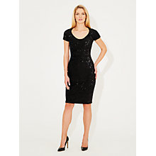 Buy Damsel in a dress Mystique Dress, Black Online at johnlewis.com