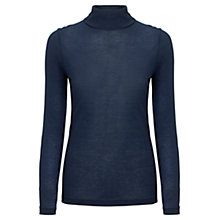 Buy Jigsaw Knit Polo Neck Top Online at johnlewis.com