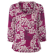 Buy White Stuff Tepee Top, Chinese Pink Online at johnlewis.com