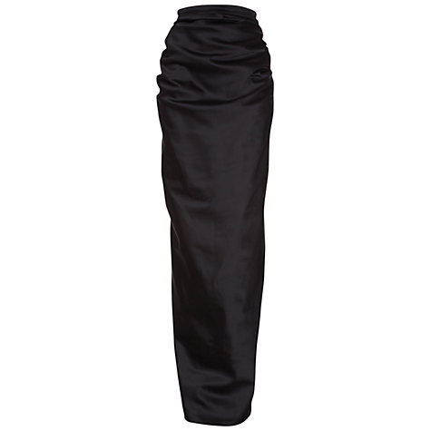 Buy Damsel in a dress Crystal Maxi Skirt, Black Online at johnlewis.com