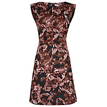 Buy Reiss Otto Floral Print Shift Dress, Blush Online at johnlewis.com