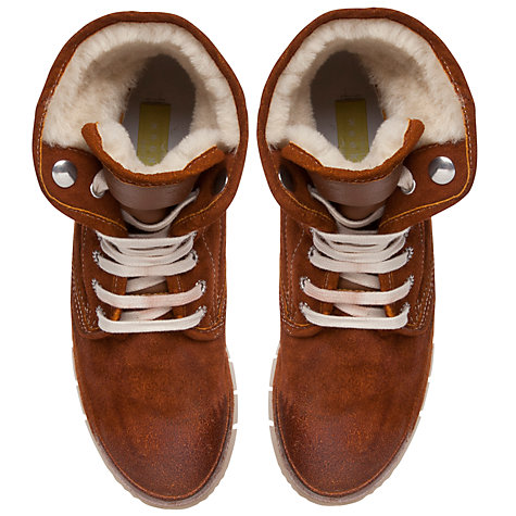Buy Collection WEEKEND by John Lewis Denver Leather Hiking Boots, Brown Online at johnlewis.com