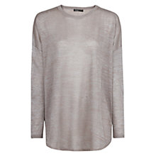 Buy Mango Metallic Loose Fit Jumper Online at johnlewis.com