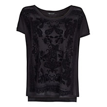 Buy Mango Printed Loose Fit Top Online at johnlewis.com