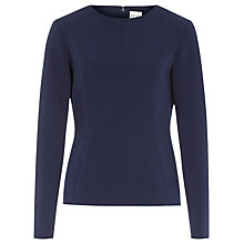 Buy Reiss Emily Fitted Top Online at johnlewis.com