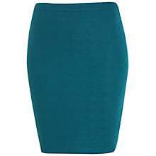 Buy Miss Selfridge Quilted Mini Skirt, Green Online at johnlewis.com