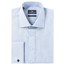 Buy Chester by Chester Barrie Oxford Tailored Long Sleeve Shirt, Blue Online at johnlewis.com