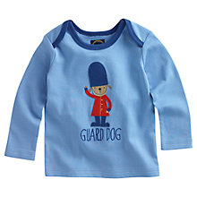 Buy Baby Joule Guard Dog Soldier T-Shirt, Light Blue Online at johnlewis.com