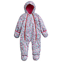 Buy Baby Joule Everly Snowsuit, Pink Online at johnlewis.com