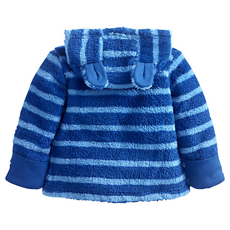 Buy Baby Joule Albury Striped Fleece, Light Blue Online at johnlewis.com