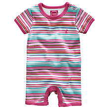 Buy Baby Joule Bonnie Stripe Romper, Multi Online at johnlewis.com